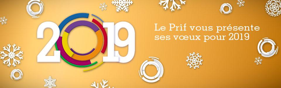 Le Prif vous présente ses voeux pour 2019 !